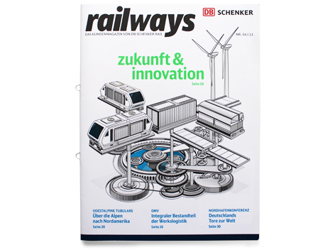 Zukunft und Innovation - Cover - Logistik von Morgen - logistics of tomorrow